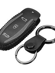 Недорогие -Пульт дистанционного управления автомобиля брелок пу кожаный чехол держатель для тесла модель s