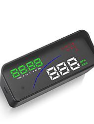 Недорогие -P9 автомобиль HUD Head Up Display OBD Smart Digital Meter HD дисплей проектора для большинства автомобилей