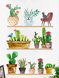 Недорогие -модные креативные растения в горшках - слова&ампер цитаты стикеры на стенах персонажей кабинет / кабинет / столовая / кухня