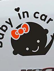 Недорогие -ребенок в машине букв размахивая ребенком на борту знак безопасности автомобиля наклейка наклейка