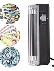 Недорогие -2-в-1 портативный мини-детектор денег поддельные наличные деньги банкнота счетчик тестер тестер с ультрафиолетовым светом фонарик