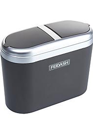 Недорогие -автомобиль для хранения портативный удобный прочный мусорный бак автомобиль для хранения 0.8l