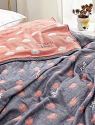 Недорогие -удобный - 1 одеяло Лето Хлопок С принтом