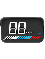 Недорогие -Head-Head Display M7 светодиодный цветной экран HUD GPS скорость код ошибки устранения неисправности автомобиля диагностический инструмент