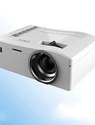 Недорогие -Unic бытовой светодиодный проектор мини портативный микро проектор U диск компьютер мобильный телефон проектор