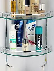 Недорогие -Полка для ванной Креатив / Многофункциональный Современный Сплав титана 1шт На стену