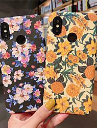 abordables -Funda Para Xiaomi Mi 9 / Mi 9 SE Congelada / Diseños Funda Trasera Flor Dura ordenador personal para Xiaomi Redmi Note 5 Pro / Xiaomi Redmi Note 7 / Xiaomi Mi Max 3