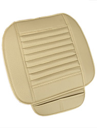 Недорогие -дышащая искусственная кожа бамбук древесный уголь интерьер автомобиля чехлы на сиденья подушки для автозапчастей офисный стул