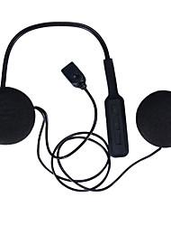 Недорогие -мотоциклетный шлем гарнитура bluetooth 4.0 двойные стереодинамики громкой музыки управления микрофоном наушники черный