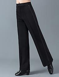 economico -Balli latino-americani Pantaloni Per uomo Addestramento / Prestazioni Cotone / POLY Più materiali Alto Pantaloni
