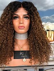 halpa -Aitohiusperuukit verkolla Kinky Straight Tyyli Keskiosa Suojuksettomat Peruukki Tummanruskea Tummanruskea / tumma Auburn Synteettiset hiukset 26 inch Naisten Naisten Tummanruskea Peruukki Pitkä
