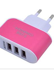 Недорогие -LITBest Зарядное устройство для дома Зарядное устройство USB Евро стандарт Нормальная 3 USB порта 3.1 A 100~240 V для