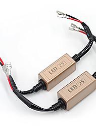 Недорогие -Автомобильная светодиодная фара canbus без ошибок компьютер предупреждение резистор декодеры h1 / h3 расширенная версия декодер
