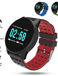 Недорогие -ST108 Мужчины Смарт Часы Android iOS Bluetooth Водонепроницаемый Сенсорный экран Пульсомер Измерение кровяного давления Спорт