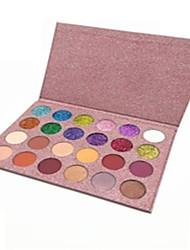 abordables -24 colores Sombras de Ojos Ojo / Salud y Bienestar Múltiples Funciones / Todo-En-1 / Tapa de Una Abertura / Kits / perdurable Múltiples Funciones Maquillaje de Diario / Maquillaje de Fiesta Cosmético
