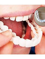 Недорогие -отбеливание мгновенное идеальная улыбка зубы поддельные зубная крышка на улыбке мгновенные зубы косметический протез уход за верхними размерами