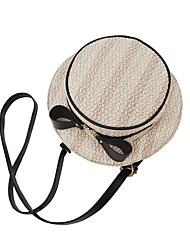 Χαμηλού Κόστους -Γυναικεία Φερμουάρ Σταυρωτή τσάντα Άχυρο Θαλασσί / Χακί