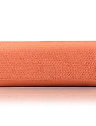 abordables -Mujer Bolsos Hebra Bolso de Noche En Relieve Color sólido Negro / Naranja