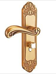 Недорогие -умный замок европейский стиль алюминиевый дверной замок indoo спальня дверной замок простая ручка двери ванной