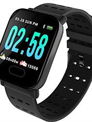 Недорогие -St6 умный браслет часы монитор сердечного ритма артериальное давление активность фитнес-трекер браслет умный браслет для IOS Android