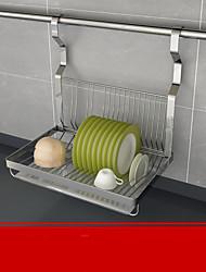 baratos -Alta qualidade com Aço Inoxidável Acessórios para gabinete Para utensílios de cozinha Cozinha Armazenamento 3 pcs