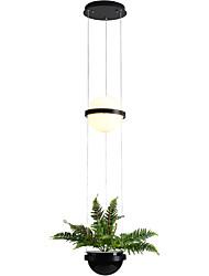 Недорогие -империя люстра потолочный светильник цинковый сплав металл 110-120 В / 220-240 В теплый белый / белый
