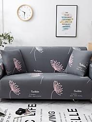 Недорогие -Накидка на диван Растения С принтом Полиэстер Чехол с функцией перевода в режим сна