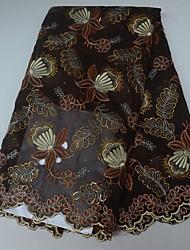 levne -Africké krajky Lidový styl Vzor 130 cm šířka tkanina pro Zvláštní příležitosti prodáno podle 5Yard