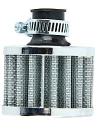 Недорогие -12 мм воздушный фильтр мотоцикла с турбонаддувом вентиляция картера