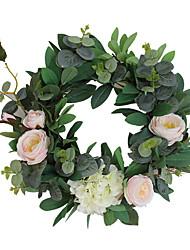 זול -פרחים מלאכותיים 1 ענף קלאסי מסוגנן צמחים פרחים לשולחן