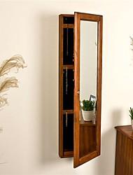 Недорогие -шкаф для одежды и зеркало в отделке под дерево