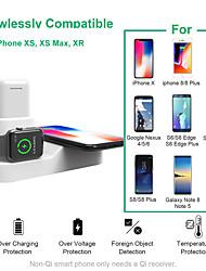 Недорогие -Apple Watch Стенд с адаптером Металл Кровать / Стол