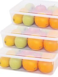 Недорогие -Высокое качество с Пластик Коробки для хранения / Хранение продуктов питания Повседневное использование / Многофункциональный Кухня Место хранения 1 pcs