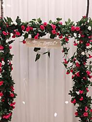 Недорогие -Искусственные Цветы 1 Филиал Классический С креплением на стену Свадьба европейский Розы Вечные цветы Цветы на стену
