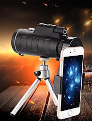 Недорогие -Монокуляр 40x60 телескоп hd мини монокуляр для охоты на открытом воздухе кемпинга