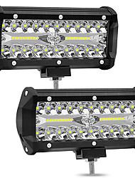 Недорогие -2шт 4 дюйма 72 Вт 4 ряда светодиодные полосы света внедорожный ремонт ремонт бар рабочая лампа