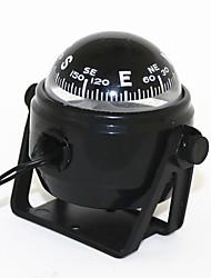 Недорогие -мини-круглый прецизионный компас со светодиодной подсветкой морской морской электронный цифровой компас для автомобиля грузовик