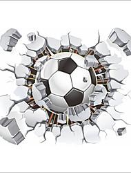 Недорогие -Декоративные наклейки на стены - Простые наклейки Футбол В помещении / Детская