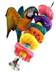 Недорогие -птица Жердочки и лестницы Подходит для домашних животных Фокусная игрушка Войлок / Ткань Птица Специальный материал 24 cm