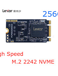 halpa -Lexar 256GB M.2 (NVMe) Lexar 256G SSD Solid State Drive Laptop Hard Drive M.2 Interface NVME Protocol 2242