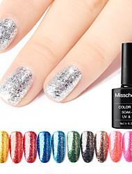 voordelige -Nagellak UV-gel 1 pcs Stijlvol / Glitter & Sprankel Losweken duurzaam Dagelijks / Alledaagse kleding / Festival Stijlvol / Glitter & Sprankel Modieus Design / Kleurrijk