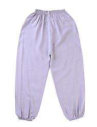tanie -Brzdąc Dla chłopców Solidne kolory Bawełna Spodnie Biały