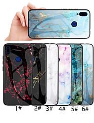 abordables -Funda Para Xiaomi Redmi Note 7 / Xiaomi Redmi Note 6 Diseños Funda Trasera Mármol Dura Vidrio Templado para Xiaomi Redmi Note 6 / Redmi 6 / Redmi Note 7
