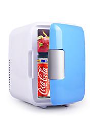 Недорогие -4л портативный холодильник автомобильный холодильник банок охладитель пива отопление и охлаждение коробка 220 В / 12 В eletric home mini дропшиппинг
