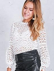 olcso -Női Póló - Egyszínű Fehér US0