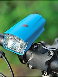 Недорогие -Светодиодная лампа Велосипедные фары Передняя фара для велосипеда LED Горные велосипеды Велоспорт Велоспорт Водонепроницаемый Супер яркий Безопасность Портативные Перезаряжаемая батарея USB 220 lm USB