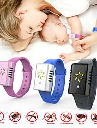 Недорогие -портативные часы ультразвуковой комаров электронный браслет