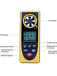 Недорогие -gm8910 многофункциональный цифровой анемометр -40-10 градусов измеритель скорости ветра холодная точка росы тестер барометрического давления