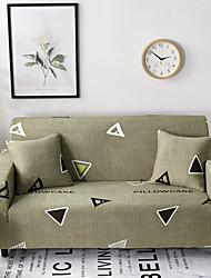 Недорогие -современный геометрический принт очень эластичный спандекс полиэстер цельный диван чехол в чехле кресло кресло для сидения 3 4 местный диван