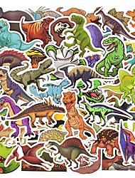 Недорогие -50 шт. / Компл. Динозавр стикер мультфильм юрских животных развивающие игрушки наклейки для детей